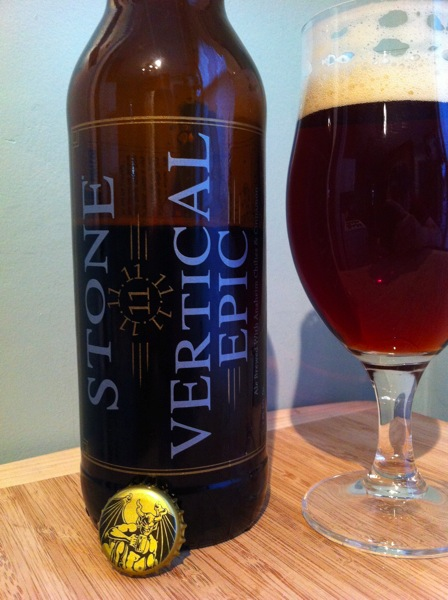 Stone Vertical Epic 11•11•111 REVIEW: Stone Brewing Vertical Epic 11•11•11
