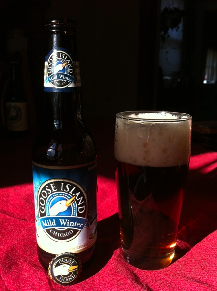 Goose Island Mild Winter REVIEW: Goose Islands Mild Winter