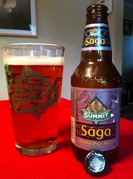 Summit Saga IPA PREVIEW: Summit Brewings Sága IPA