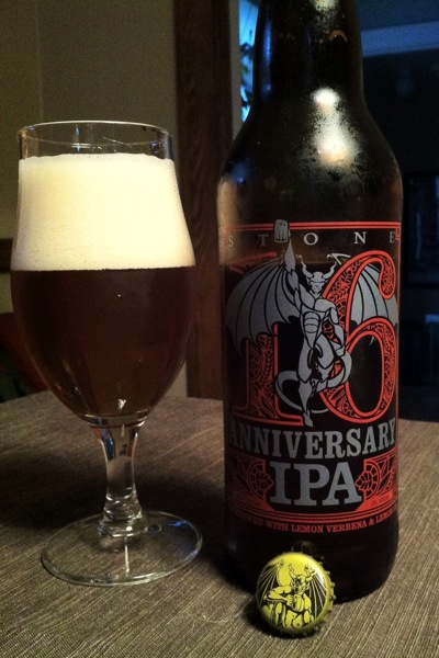 Stone 16th Anniversary IPA PREVIEW: Stone 16th Anniversary IPA